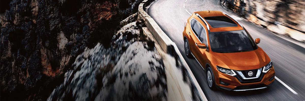 2020 Nissan Rogue Front Orange Exterior